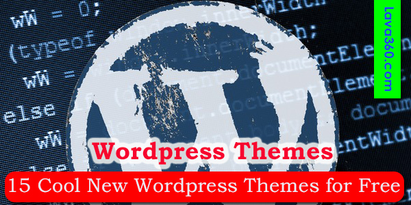 15 Cool New WordPress Themes for Free