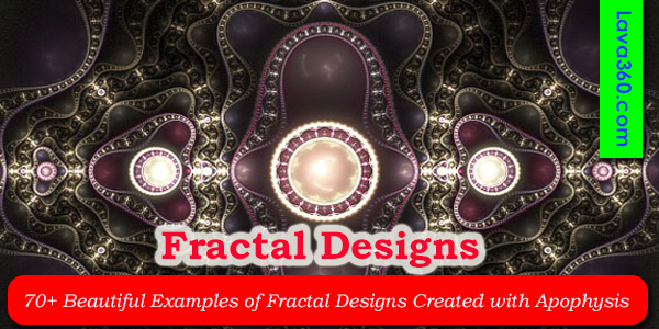 30+ Beautiful Examples of Fractal Designs Created with Apophysis