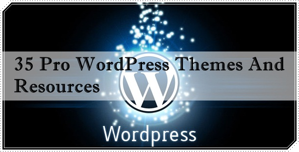 35 Pro WordPress Themes And Resources