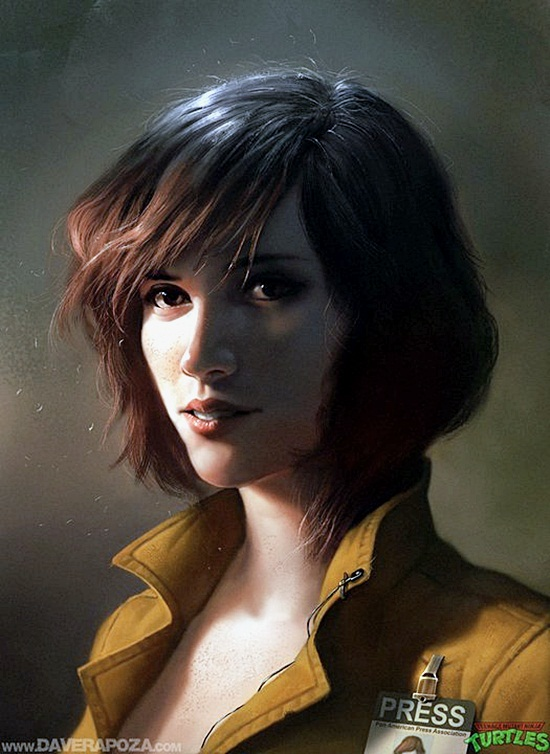 Realistic Character Design Illustrations (10)