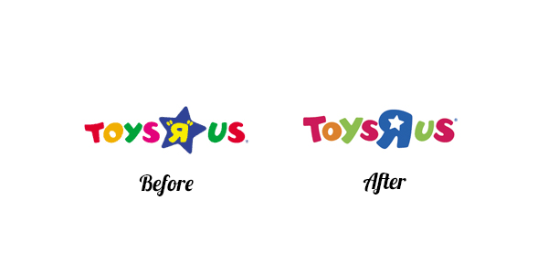 Toys r us Logo redesign