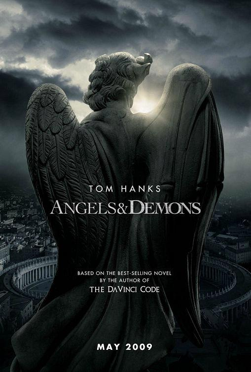 angels demons 100 Most Astonishing Movie Posters