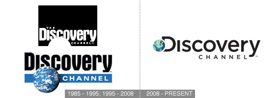 discovery channel logo redesign