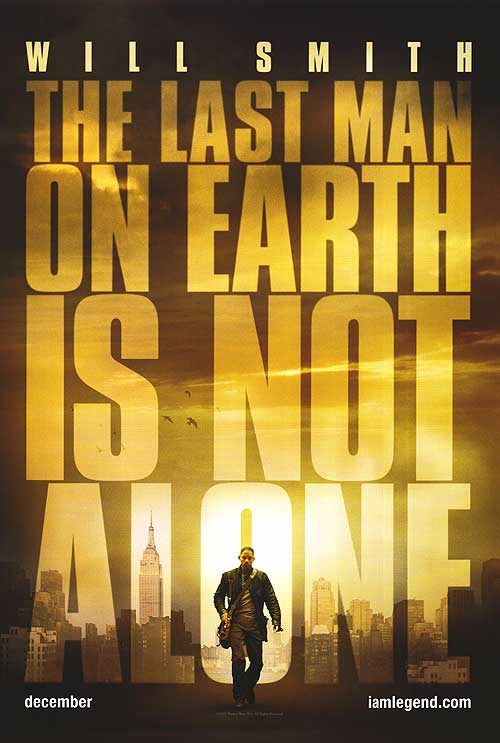 i am legend1 100 Most Astonishing Movie Posters