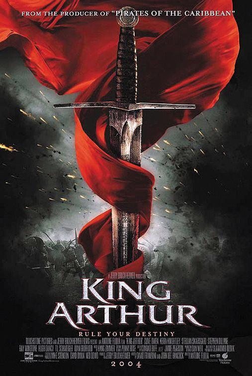 king arthur 100 Most Astonishing Movie Posters