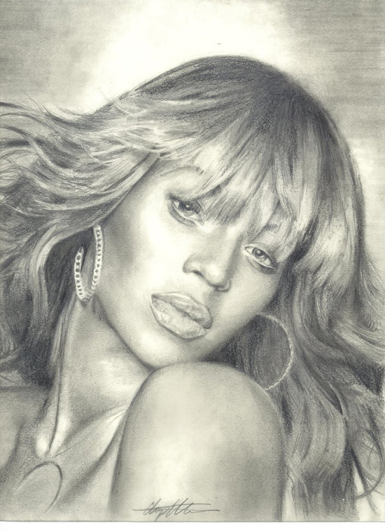 Stunning Drawings of Famous Celebrities