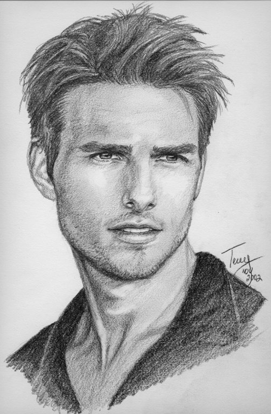 Pencil drawings celebrities