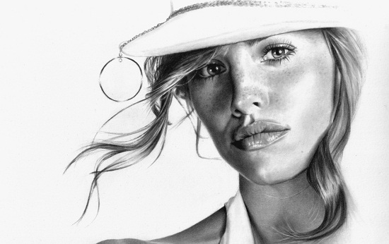 45 stunning traditional art pencil drawings of famous
