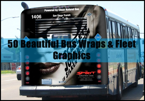 Beautiful Bus Wraps & Fleet Graphics
