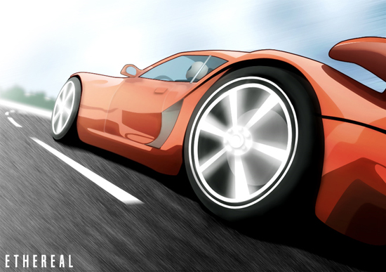 vexel25 Really Stunning Automotive Vexel Art