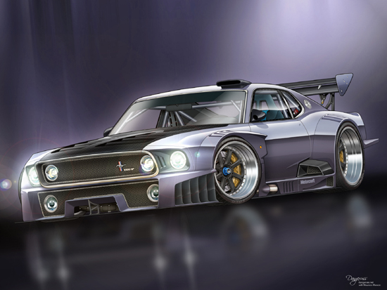 vexel44 Really Stunning Automotive Vexel Art