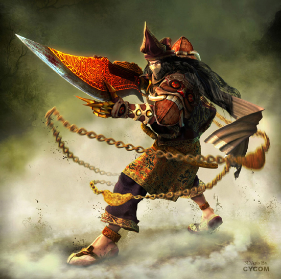 warrior33 35+ Incredible Mixed Media Art of Warriors