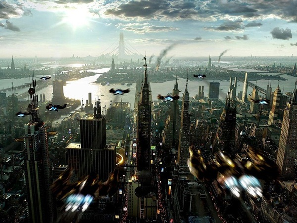 Breathtaking Future City Concept Art (4)