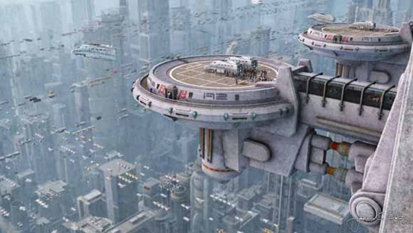 Breathtaking Future City Concept Art (7)