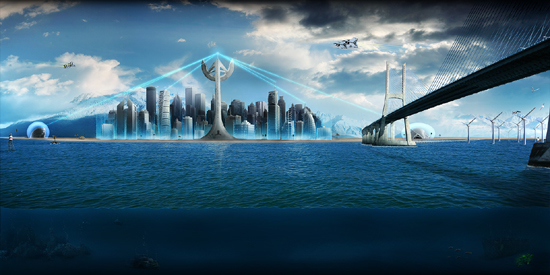 30 Breathtaking Future City Concept Art