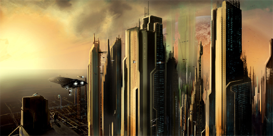 futurecity19 30 Breathtaking Future City Concept Art