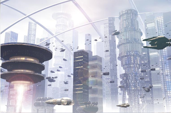 futurecity2 30 Breathtaking Future City Concept Art