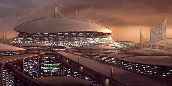 futurecity24 30 Breathtaking Future City Concept Art