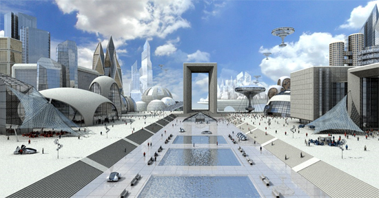 futurecity29 30 Breathtaking Future City Concept Art