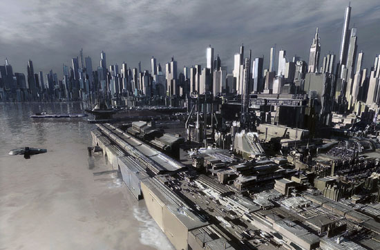 futurecity32 30 Breathtaking Future City Concept Art