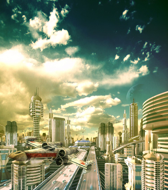 futurecity9 30 Breathtaking Future City Concept Art