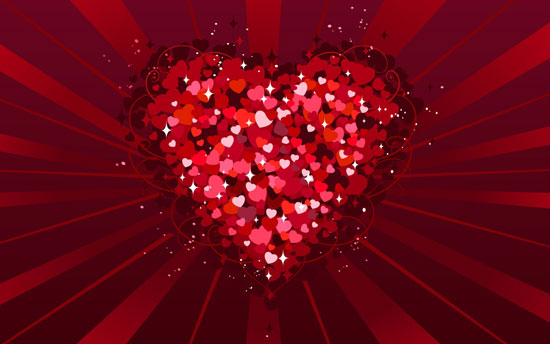 extremely lovely valentine's day wallpapers  lava, Beautiful flower