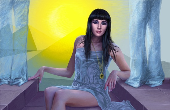Gorgeous Cleopatra the Great images in Digital Art (2)