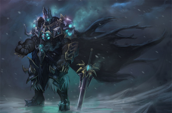 death knight illustration1 The Wrath of Death Knight. 20 Kick Ass Illustrations