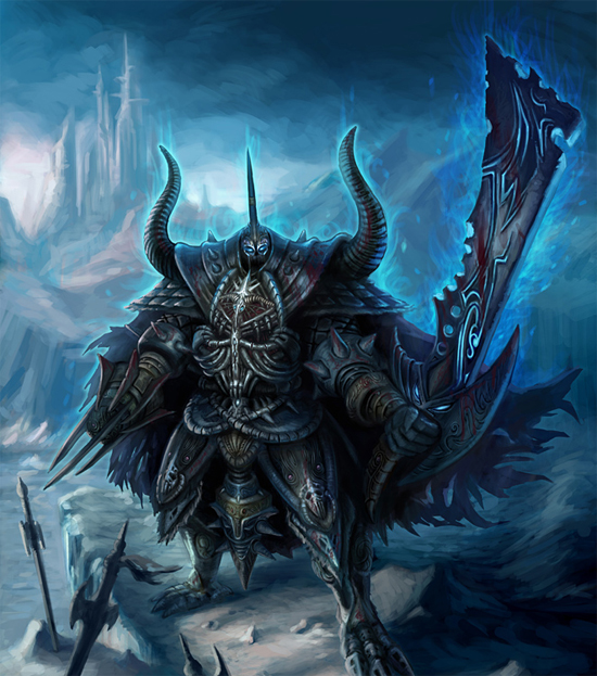 death knight illustration4 The Wrath of Death Knight. 20 Kick Ass Illustrations