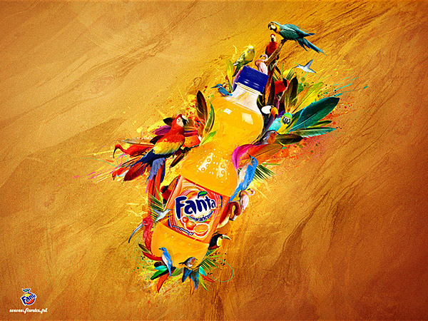 fanta Exceptional Photo Manipulations