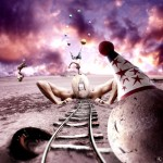 Concept of Circus & Photomanipulation