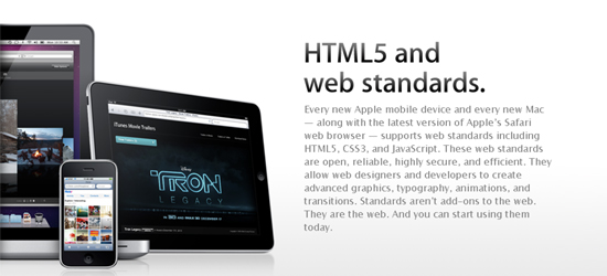 Apple's Showcase of HTML5