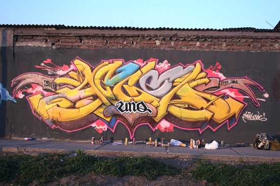 Wall Writings & Graffiti Artwork