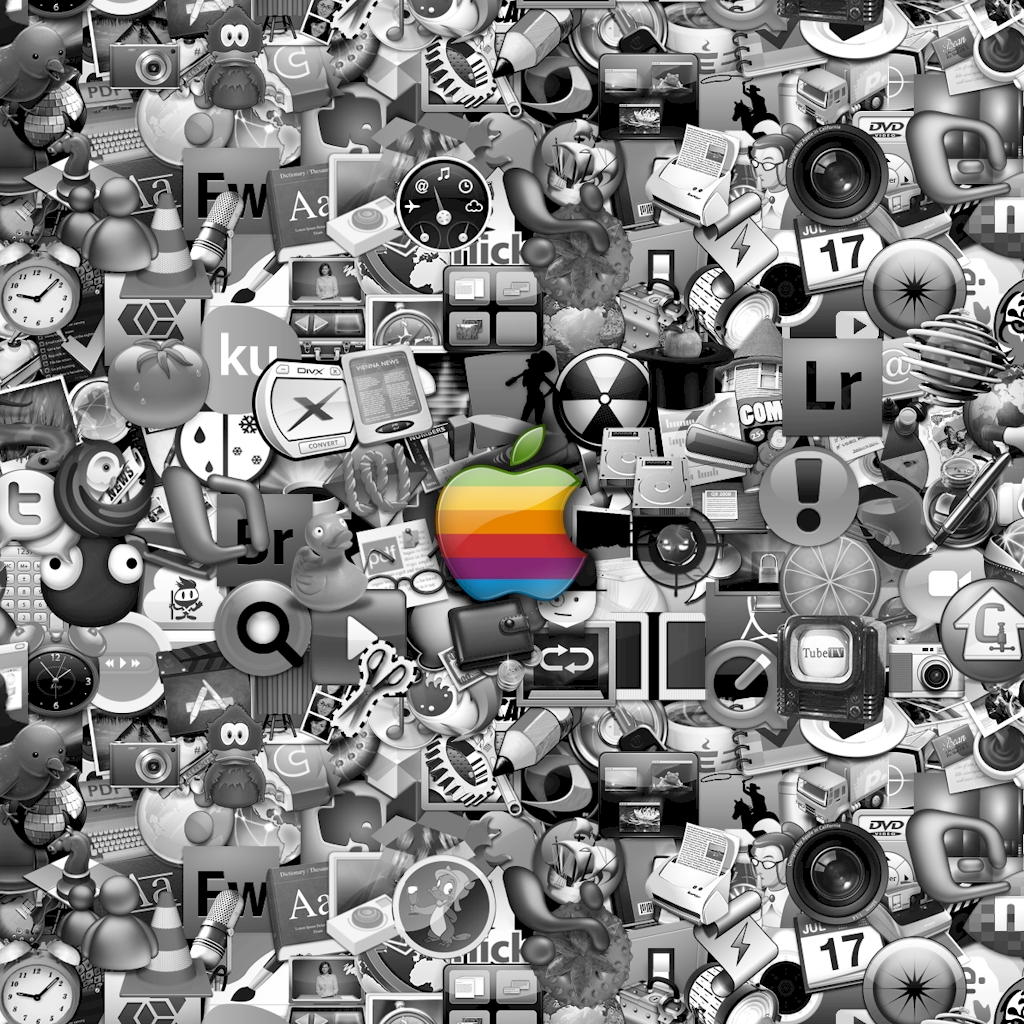 ipad-wallpaper-apple-icons-bw
