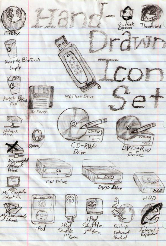 Download Sketchy & Artistic Icon set