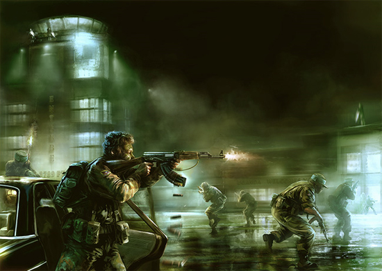 warpolitics digitalart26 40 Really Awesome War Digital Artwork