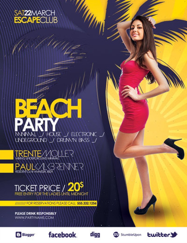 Amazing Party Poster Designs10