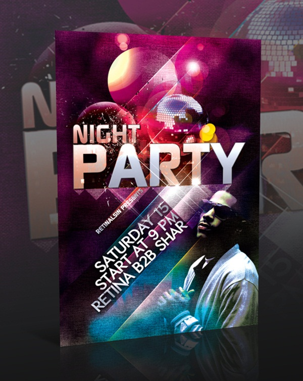 Amazing Party Poster Designs15