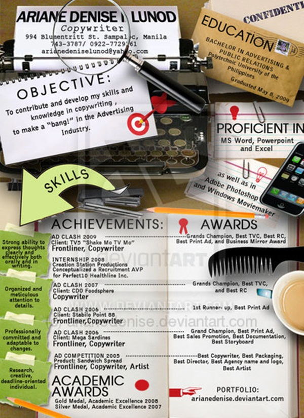 Creative resume ideas11