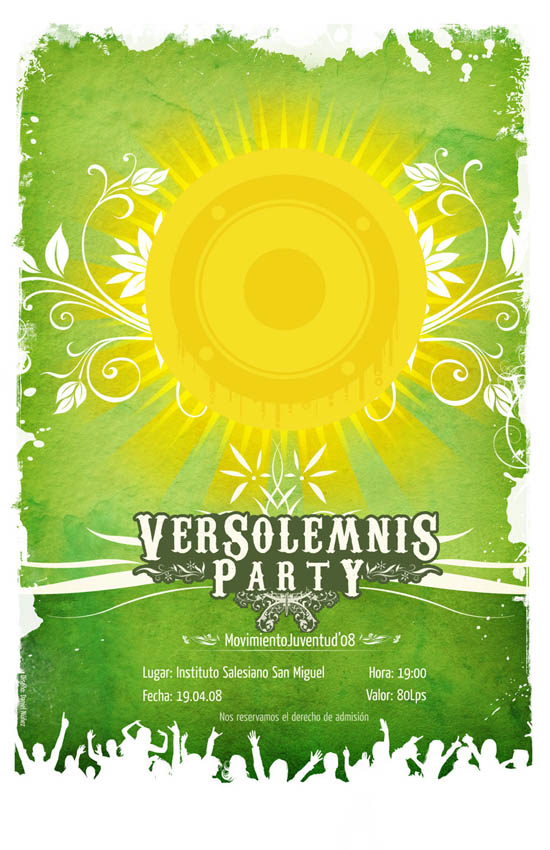 Amazing Party Poster Designs