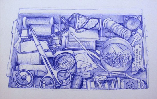 Ballpoint Pen Drawings & Sketches (3)