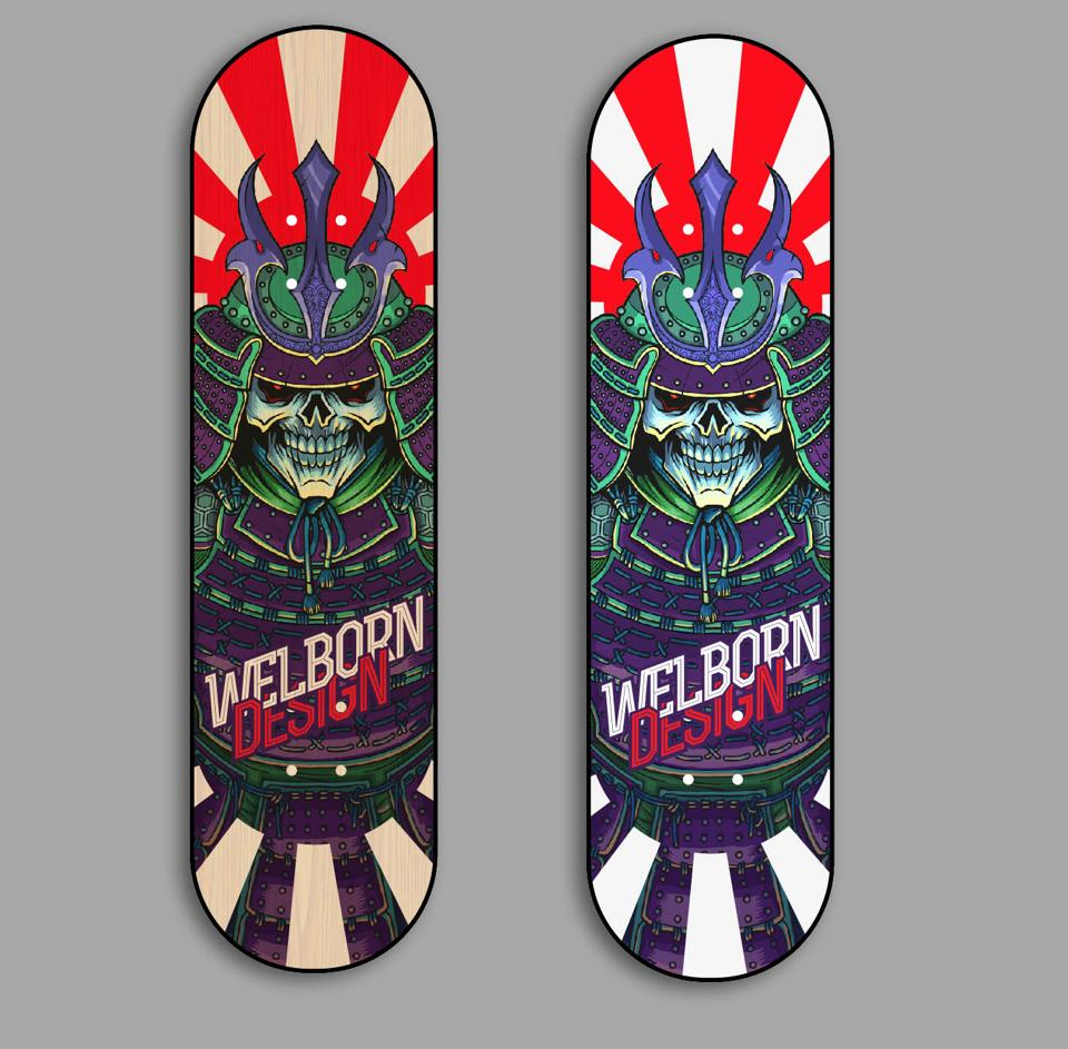 Skateboard Deck Designs (2)