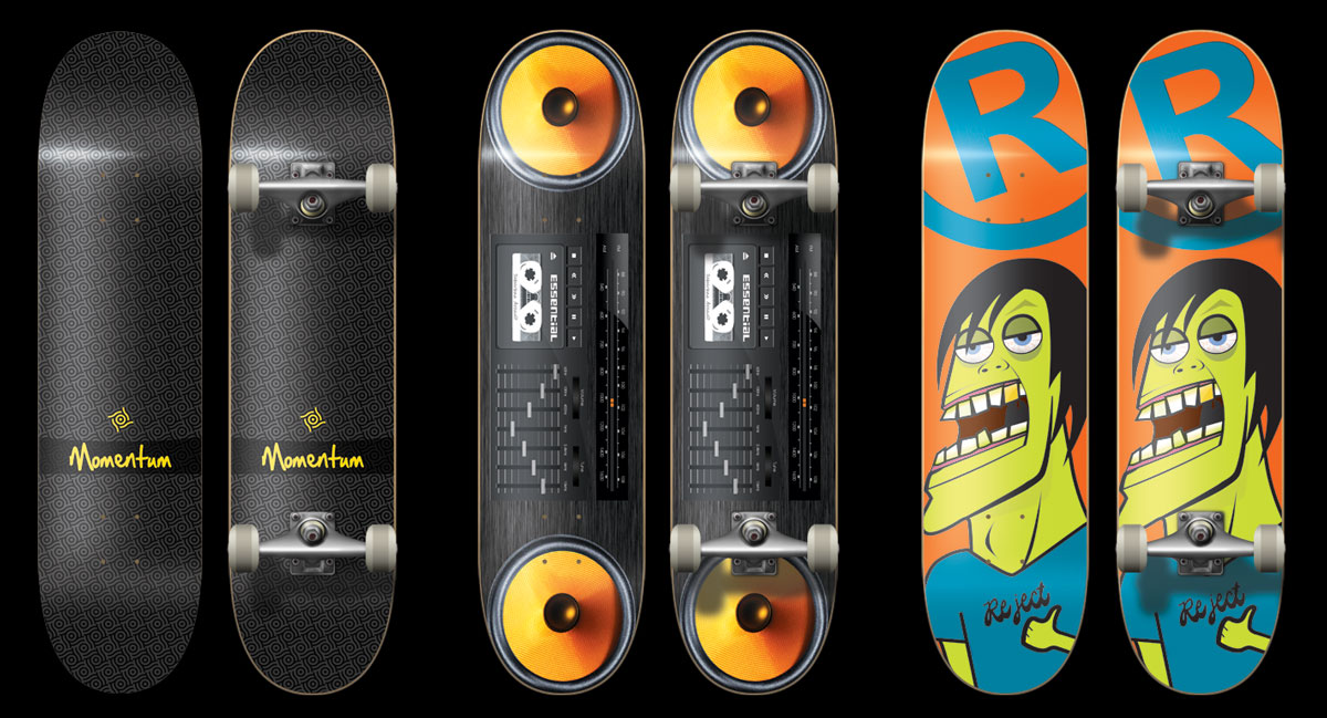Skateboard Deck Designs (8)