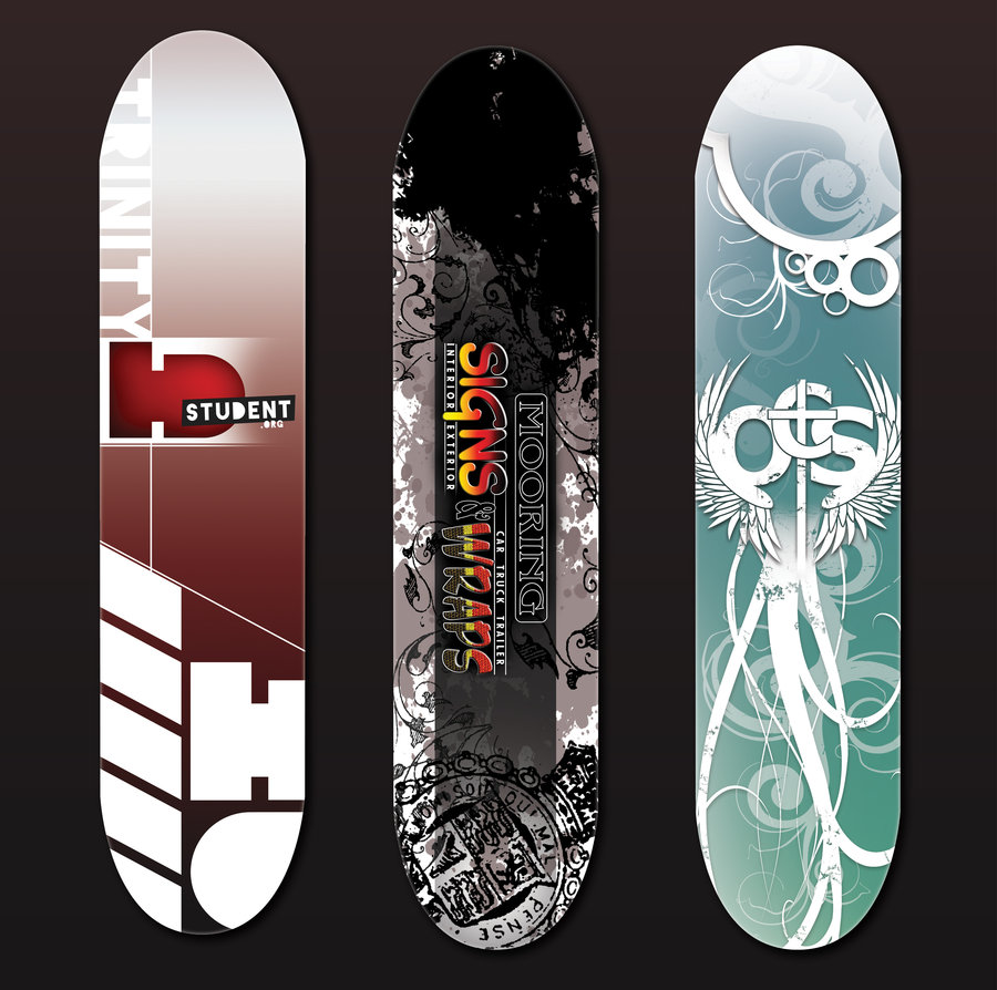 Skateboard Deck Designs (9)