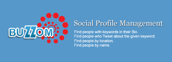 Leverage Your Social Profile Using Buzzom