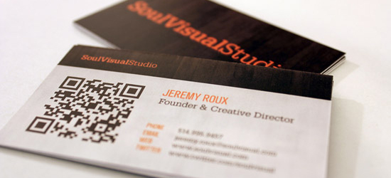 35 Innovative & Artistic Business Card Designs
