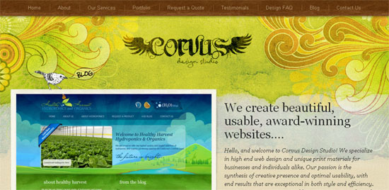 Creative & Beautiful Website Header