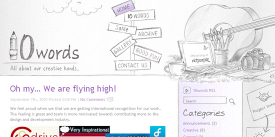Inspirational CSS Based Web Design