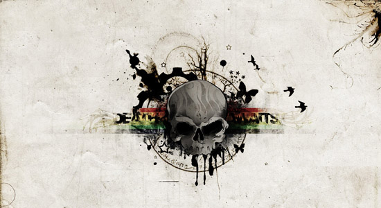 skull wallpaper 40 Devilish Skull Wallpapers For Your Desktop
