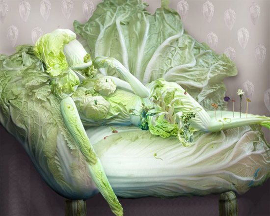 Incredible Vegetable Art & Portraits
